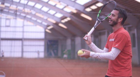 Tennisspieler Werner Eschauer
