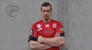 Rugby Spieler Raphael Büchel
